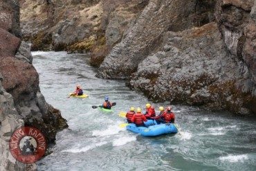 White water rafting in Iceland, Beast of the East