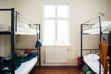 Dormitories, sleeping bag accommodation