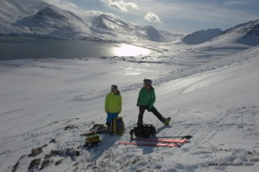 There is nothing like skiing in spring time in Iceland